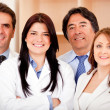 Stock Photo: Business and medical staff