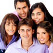 Group of young — Stock Photo #8850134