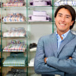 Stock Photo: Retail store manager