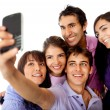 Royalty-Free Stock Photo: Friends taking a photo