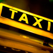 Taxi sign — Stock Photo #8850335