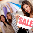 Shopping on sale — Stock Photo #8850398