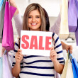 Shopping on sale — Stock Photo #8850401