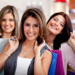 Female shoppers — Stock Photo #8850441