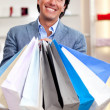 Royalty-Free Stock Photo: Man shopping
