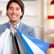 Male shopper — Stock Photo
