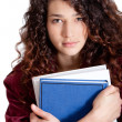 Young female student — Stock Photo #8850504