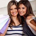 Shopping women — Stock Photo #8850517