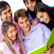 Group of students — Stock Photo #8850624