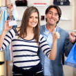 Shopping couple — Stock Photo #8850643
