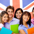 Learning English as a foreign language - Stock Photo
