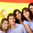 Learning Spanish as a foreign language - Stock Photo