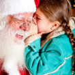 Secret to Santa — Stockfoto