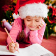 Stock Photo: Christmas wish list