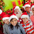 Christmas group — Stock Photo #8850804