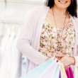 Royalty-Free Stock Photo: Female shopper