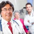 Doctor at the hospital - Stock Photo