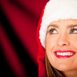 Pensive Mrs. Claus — Stock Photo #8850930
