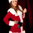 Sexy Mrs Claus — Stock Photo #8850940