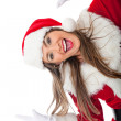 Fun Mrs Claus — Stock Photo #8850982