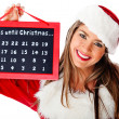 Stock Photo: Christmas countdown