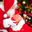 SantClaus with presents — Stock Photo #8851061