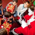 Pro technology Santa — Stock Photo