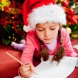 Christmas letter — Stock Photo