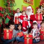 Christmas group — Stock Photo