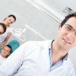 Male dentist — Stock Photo