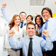 Successful business team — Stock Photo #8851394