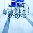 Hospital wheelchair — Stock Photo #8851436