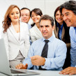 Group of business — Stock Photo #8851553