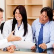 Stock Photo: Medical insurance team