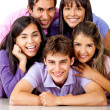 Group of young — Stock Photo #8851603