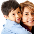 Stock Photo: Boy with his mother