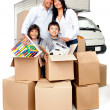 Stock Photo: Moving services