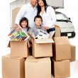 Moving services — Stock Photo