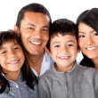 Stock Photo: Latinamerican family