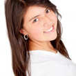 Cute girl smiling — Stock Photo #8851785