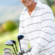 Stock Photo: Male golf player