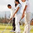 Golf players — Stock Photo #8851881
