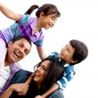 Happy family — Stock Photo #8851883