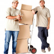 Delivery men - Stock Photo