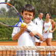 Stock Photo: Male tennis player