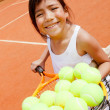 Female tennis player — Stock Photo #8851973