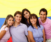Colombian group of — Stock Photo