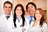 Negócios e equipe médica — Foto Stock