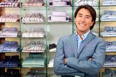 Direttore di negozio al dettaglio — Foto Stock