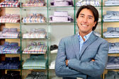Retail store manager — Foto Stock